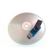 Respaldo de negativos, fotos y archivos en DVD o PenDrive
